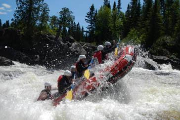 Adrénaline Rafting