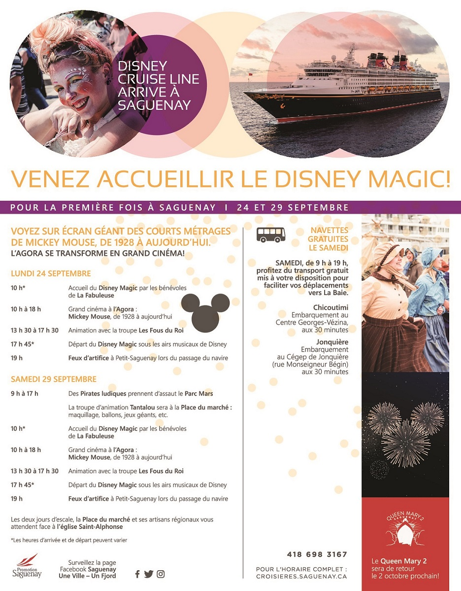 Horaire Disney Magic