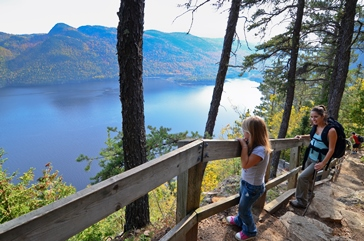 sentier du fjord