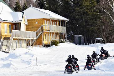 Snowmobiling Saguenay Tourism Office Saguenays Official